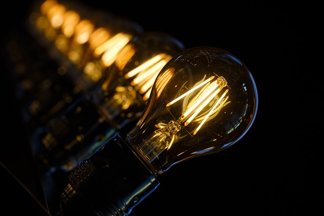 osvětlení žárovka